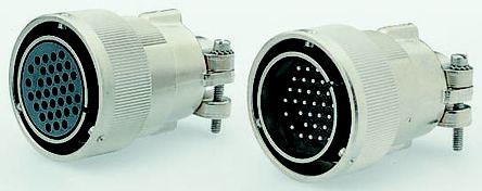 CA06COME20A48SB                                              ITT Cannon 19 Way Cable Mount MIL Spec Circular Connector Plug, Socket Contacts, Bayonet Coupling, MIL-DTL-5015