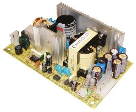 MPS-65-7.5                                              Mean Well 60W Embedded Switch Mode Power Supply SMPS, 8A, 7.5V dc Medical Approved