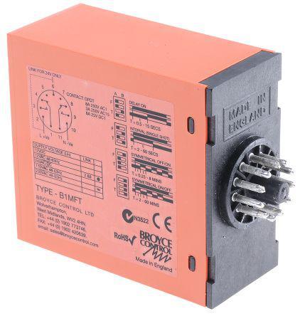 B1MFT 24VAC/DC/110VAC 2-60 MI