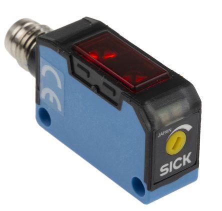 Sick Diffuse Photoelectric Sensor 2 → 100 mm Detection Range PNP IP67 Block Style WT150-P460