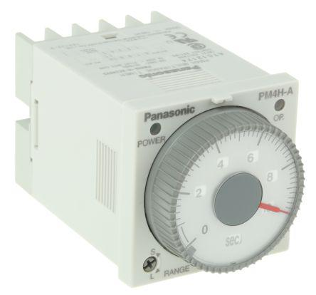 Carlo Gavazzi Multi Function Timer Relay, Screw, 0.1 s → 100 h, SPDT, 2 Contacts, SPDT