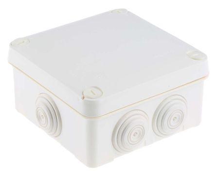 0 920 23                                              Plastic IP55 Junction Box, 105 x 105 x 55mm, Grey