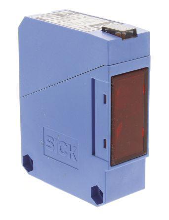 Sick Retro-reflective Photoelectric Sensor 0.01 → 15 m Detection Range Relay Block Style IP67 WL260-R270