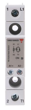 Carlo Gavazzi 25 A Solid State Relay, Zero, Panel Mount, 530 V ac Maximum Load