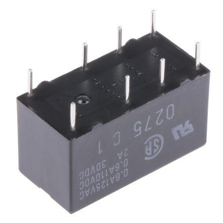 G5V-2 48DC                                              Omron DPDT Non-Latching Relay PCB Mount, 48V dc Coil, 2 A