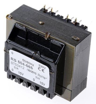 6VA Block Transformer 2 X 18V FL6//18