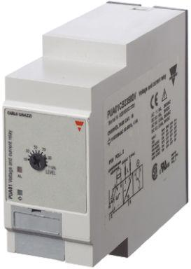 Carlo Gavazzi Current, Voltage Monitoring Relay with SPDT Contacts, 115/230 V ac