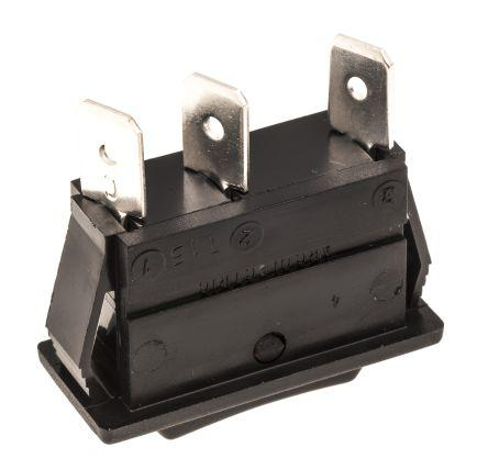 ARCOLECTRIC SWITCHES SWITCH SPST, ON ROCKER -OFF C1522AAAAA