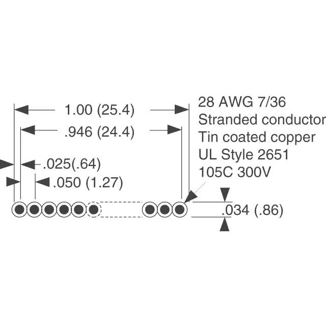 AWG28-20/F/300