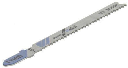2 608 631 673                                              Bosch T-Shank Jigsaw Blade Set For Metal; Aluminium, 50mm Cutting Length 3 Pack