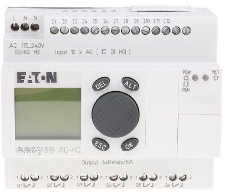 Mitsubishi Alpha 2 Logic Control With Display, 6 x Input, 4 x Output, 100 → 240 V ac Supply Voltage