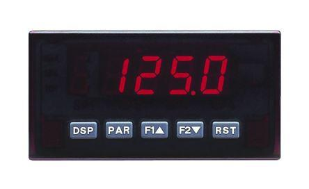 Red Lion PAXD0010 , LED Digital Panel Multi-Function Meter, 45mm x 92mm