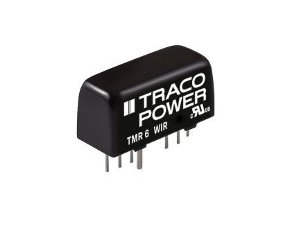 TMR 6-7212WIR                                              TRACOPOWER TMR 6WI 6W Isolated DC-DC Converter Through Hole, Vout 12V dc, I/O isolation 1600V dc