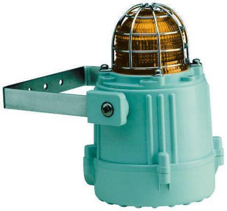 MBLD2DC024BN1A1G/A                                              e2s MBL1 Amber LED Beacon, 24 V dc, , Multiple Effect, Wall Mount
