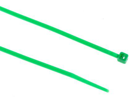 233-275                                              RS Pro Green Nylon Cable Tie, 165mm x 2.5 mm