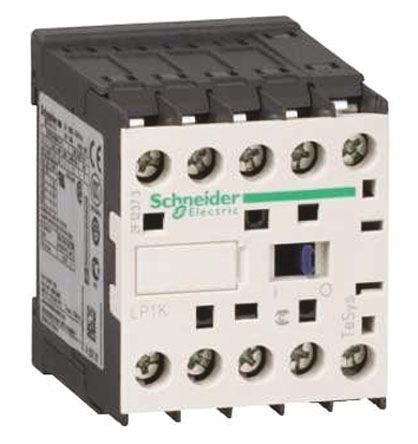 LP1K090045ED3                                              Schneider Electric TeSys K LP1K 4 Pole Contactor, 4NO, 20 A, 48 V dc Coil