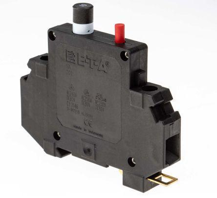 201-10A                                              ETA 10A 1 Pole Thermal Magnetic Circuit Breaker, 80 V dc, 250 V ac 201