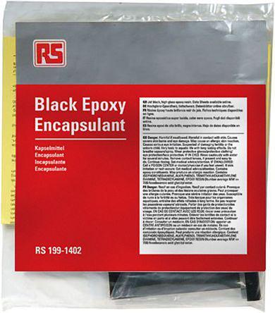 199-1402                                              RS Pro Black Flame Retardant Epoxy Potting Compound