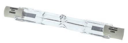 64690 ECO                                              Osram 80 W R7s 1450 lm Linear Halogen Lamp, 230 V, 74.9 mm x 12mm, 100W equiv.