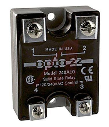 OPTO 22 2 Amp DC Control Solid State Relay MP120D2 120 VAC