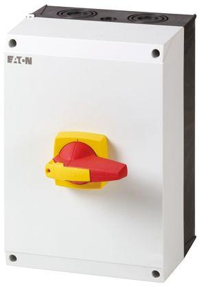 172794 | DMM-160/3/I5/P-R                                              Eaton 3 Pole Enclosed Non Fused Isolator Switch - 160 A Maximum Current, 90 kW Power Rating, IP65