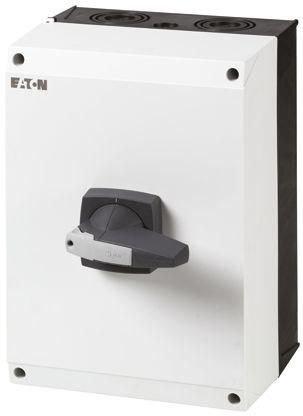 172790 | DMM-160/3N/I5/P-G                                              Eaton 3 + N Pole Enclosed Non Fused Isolator Switch - 160 A Maximum Current, 90 kW Power Rating, IP65