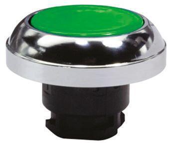 EX-RDT gn                                              Schmersal Green Push Button Head, 22.3mm Cutout