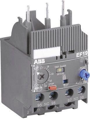 EF19-1.0                                              Overload Relay, 0.3 → 1 A, 1 A, 54 W