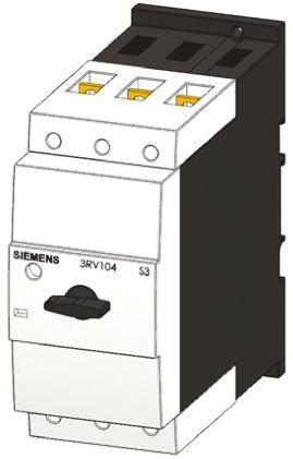 3RV1341-4LC10                                              Siemens Sirius Innovation 690 V ac/dc Motor Protection Circuit Breaker, 3P Channels, 90 A, 50 kA