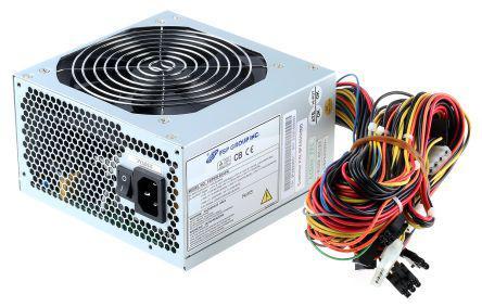 FSP 650W Computer Power Supply, 230V Input, 3.3 V, 5 V, ±12 V Output