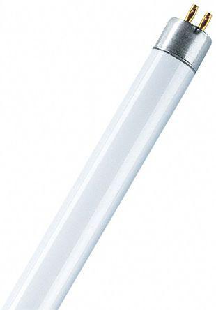 Osram 13 W T5 Fluorescent Tubes, Cool White, 4000K, 950 lm, 530mm, 1.8ft