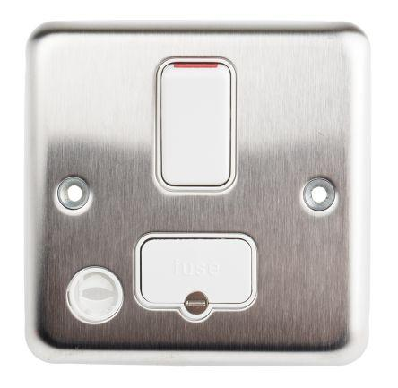 K931BSS                                              MK Electric 13A 2 Gang Switched Surface Mount Fused Connection Unit