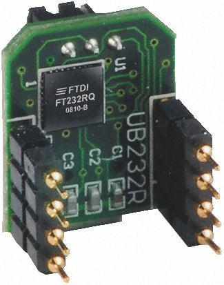 UB232R | FTDI Chip | FTDI Chip, Type B USB to UART