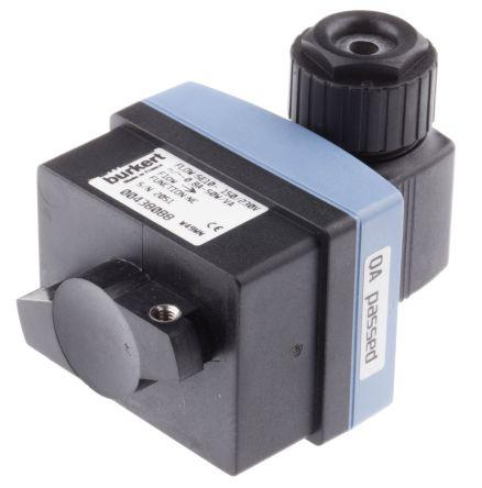 Turck, 1 → 150 (Water) cm³/s, 3 → 300 (Oil) cm³/s Flow Controller, M12 Connector, PNP