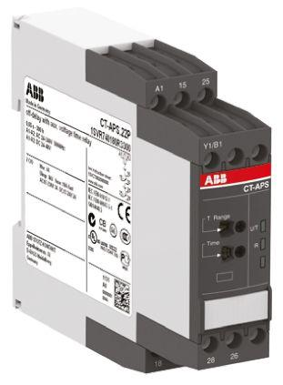 1SVR730180R3300                                              OFF Delay Single Timer Relay, Push In, 0.05 s → 300 h, DPDT, 2 Contacts, SPDT