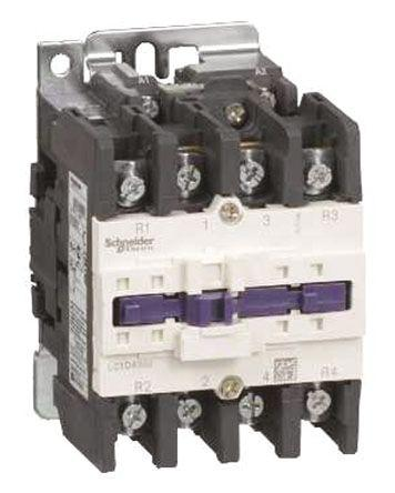 LC1D40008FE7                                              Schneider Electric Tesys D LC1D 4 Pole Contactor, 2NO/2NC, 60 A, 440 V ac Coil
