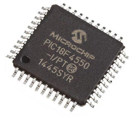 PIC18F4550-I/PT