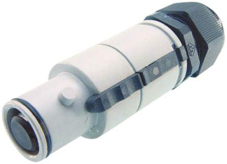 SNLM-P-C35-25S-BL                                              ITT Cannon Veam Snaplock Series, Cable Mount Industrial Power Plug, Rated At 400A, 415 V ac