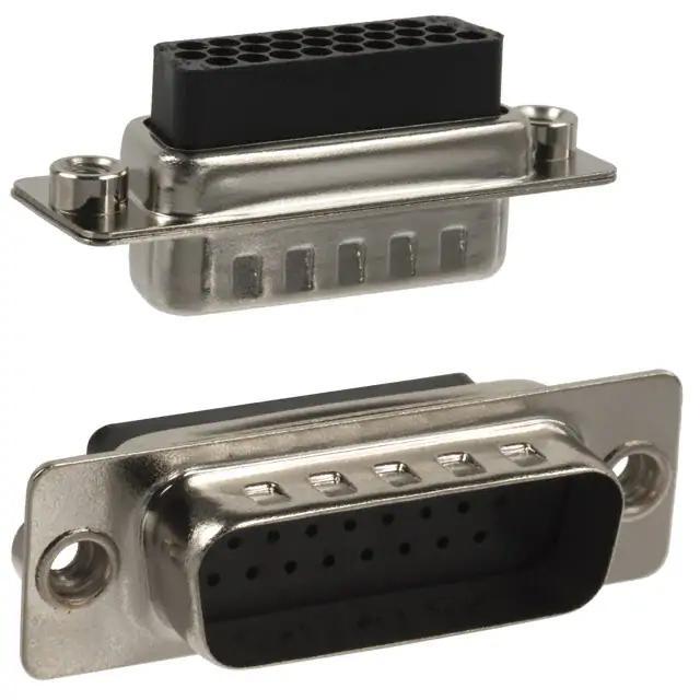 NORCOMP Steel 180-015-172L020 Size DE HD D SUB Shell