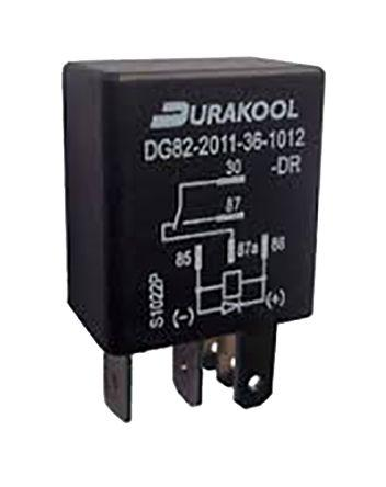 12VDC SPDT DURAKOOL Relay 80A DG85C-7011-76-1012