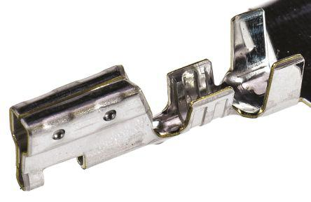 Molex Ultra-Fit 172253 Crimp Terminal Contact, Female, 18AWG to 16AWG, Tin Plating
