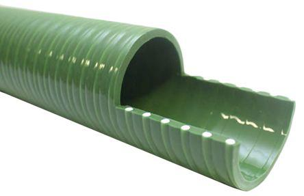917-5071                                              RS Pro PVC 10m Long Green Flexible Ducting Reinforced, 342mm Bend Radius , Applications Various