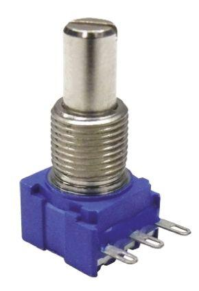 53AAD-B28-E13L                                              Bourns 53 Series Potentiometer with a 6.35 mm Dia. Shaft, 5kΩ, ±10%, 0.5W, ±1000ppm/°C