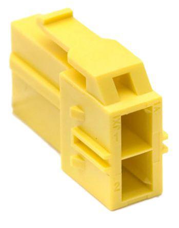 Molex CP-6.5 Series 6.5mm Pitch 2 Way 2 Row Female Straight Crimp Connector Housing 151049