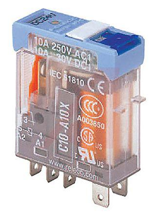 Turck SPDT Plug In Non-Latching Relay, 5V dc Coil, 10 A