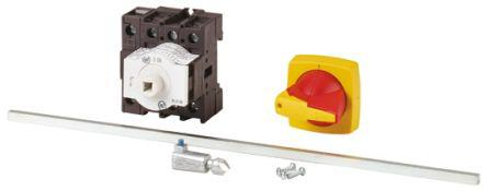 172778 | P1-32/M4/K1-PR/N                                              Eaton 3 + N Pole Panel Mount Non Fused Isolator Switch - 32 A Maximum Current, 18.5 kW Power Rating, IP65