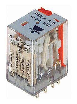 Carlo Gavazzi 4PDT Non-Latching Relay Plug In, 230V ac Coil, 5 A