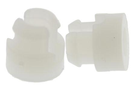 SRS-4-6-01                                              SRS-4-6-01, 9.5mm High Nylon Self-Retaining Spacer with 4.7mm PCB Hole and 3mm Chassis Hole for M3 Screw