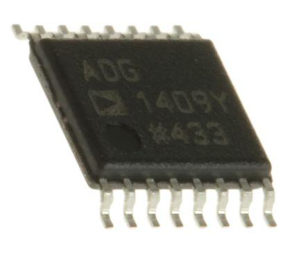 Analog Devices ADG1406BRUZ Multiplexer Single 16:1 12 V 28-Pin TSSOP