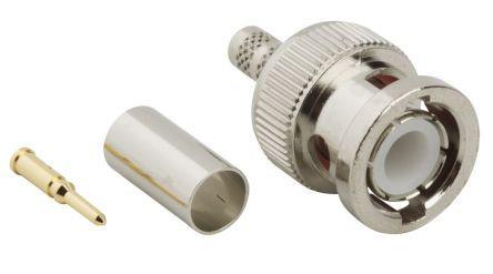 112514                                              connector,rf coaxial,bnc str crimp plug,captive cont,rg/u142,223,400,50 ohm